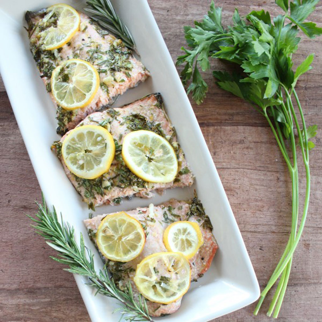 lemon and herb salad