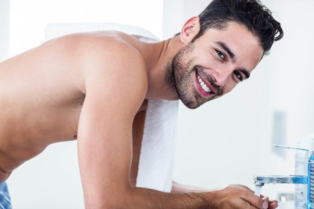 skin health tips for men